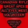 CANADIAN RIFLE, GREAT APES, ALL EYES WEST, VOLUNTEER