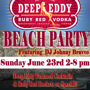 Deep Eddy presents Beach Party w/ DJ Johnny Bravvo