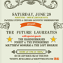 swizzlesteve.com presents... The Future Laureates, Cheap Pizza & Free Band Merch!