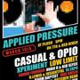  Applied Pressure Beat Series: Casual, Opio, Xperiment, B.Lewis 