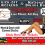 Kick-off Weekend & National Bikinis Day w/ Jerry Jeff Walker & Carmen Electra