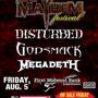 ROCKSTAR ENERGY MAYHEM FESTIVAL:<br />Disturbed | Godsmack | Megadeth and more!