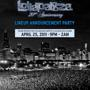 Do312 & Rehab Present:<br />The Official LOLLAPALOOZA<br />Lineup Announcement Party!