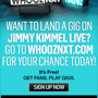 Land a Gig on Jimmy Kimmel Live!