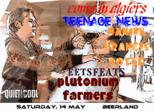 Coma in Algiers, Daniel Francis Doyle, Teenage News, Eets Feats, Plutonium Farmers