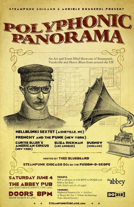 Steampunk Chicago &<br />Audible Doggerel pres. POLYPHONIC PANORAMA!