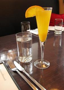 Saturday Brunch 9am to 3pm: $1 Mimosas and Bellinis