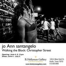 Jo Ann Santangelo: Walking the Block