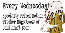Wednesday Special: Cheap Mother Plucker Mugs + Trivia