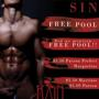 Monday Night Sin: Free Pool, $5.50 Margaritas & Martinis $5 Patron
