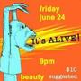 RSVP HERE for HOSTED CANADIAN CLUB BAR - for - IT'S ALIVE! A Benefit for the Rebirth of Chicago Undergroun