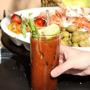  SUNDAY BRUNCH - Mimosas - $2.00,  Bloody Marys - $3.50,  22oz. Big Drafts - $3.75