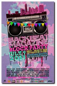 Backbeat Magazine Block Party - RSVPS CLOSED