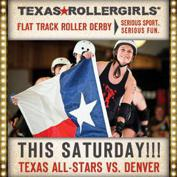 Texas Rollergirls: Texecutioners vs. Denver Roller Dolls
