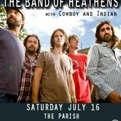 Band of Heathens w/ Cowboy & Indian