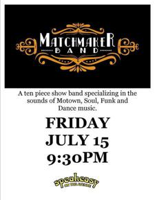 Matchmaker Band at Speakeasy