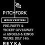 PITCHFORK OFFICIAL LAUNCH PARTY featuring Chrissy Murderbot, Musa & Heaven Malone | Plus Surprise Live Performance!