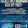 LOCALS ONLY:<br />Lollapalooza Kick Off Party