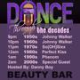 Dance Through The Decades - Music 50's to today - Unofficial North Coast After Party