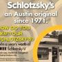  How do you like YOUR Schlotzsky's?  Tell us for a chance to win a Year's Worth of Free Meals!