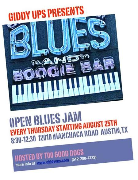 Open Blues Jam @ Giddy Ups