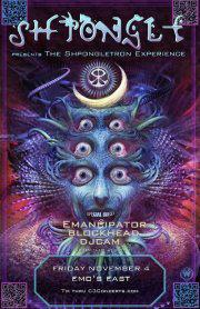 The Shpongletron Experience with Shpongle, Emancipator, Blockhead, DJ Cam