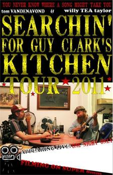Searching for Guy Clark's Kitchen Tour - Austin, TX