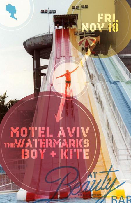 Motel Aviv, The Watermarks, Boy + Kite, Lights Go Out