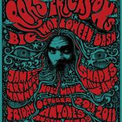  Roky Erickson Halloween Bash  - with -  James Arthur's Manhunt, Shapes Have Fangs, Not In The Face, Holy Wave