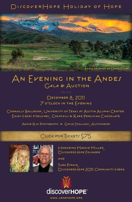 An Evening in the Andes Gala & Auction