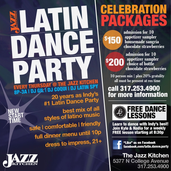Latin Night At The Jazz Kitchen