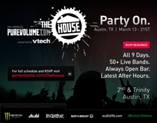PureVolume Interactive Party 4 (RSVP) - Pompeii | Jets Under Fire | The Action Design