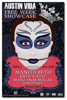 FREE WEEK: Austin Vida Swan Dive showcase ft. Maneja Beto