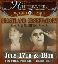 GHOSTLAND OBSERVATORY on the Guadalupe--2 Nights!!