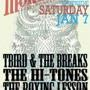 Free Week: T-Bird & The Breaks + The Hi-Tones + Boxing Lesson+ The Alice Rose