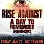 RISE AGAINST<br />special guests A Day To Remember and The Menzingers