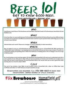 Beer 101 - Get to Know Good Beer!