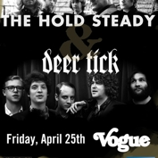 92.3 WTTS Presents The Hold Steady, Deer Tick