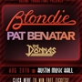 Blondie, Pat Benatar, The Donnas--Presented by Rozone Productions