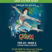 Cirque du Soleil Quidam - Do512 Discounted Tickets!