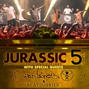Jurassic 5 with Dilated Peoples , Beat Junkies, (Rhettmatic) and MC Supernatural