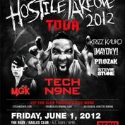 Hostile Takeover Tour 2012 TECH N9NE, Machine Gun Kelly, Krizz Kaliko, Mayday, Prozak, Stevie Stone