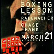 The Boxing Lesson, Rademacher, & Chase Frank