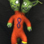 DIY Art: Felted Dolls