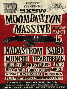 Mad Decent Night: Moombahton Massive (Badges/Wristbands Required)