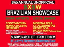 Unofficial SXSW Brazilian Showcase (Free w/ RSVP on Do512)