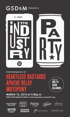 GSD&amp;M Presents: The Industry Party