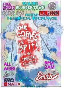 The Gories, The Spits, Cheap Time, Kid Congo, Total Slacker