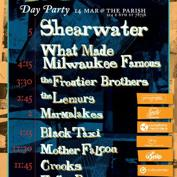 The Good Danny's + Navigational Society Day Party w/ Shearwater, WMMF, Frontier Brothers,CROOKS, Mother Falcon, Marmalakes,  + m