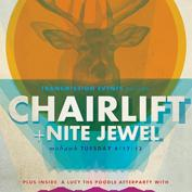 Chairlift w/ Nite Jewel, Bell